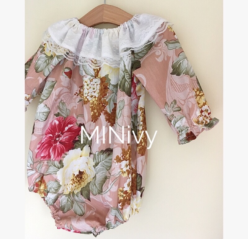 NUDE VINTAGE FLORAL COTTON - ROMPERS/DRESSES