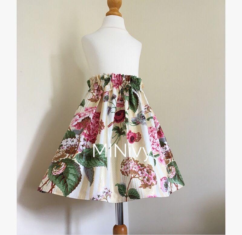 Vintage Hydrandea - Skirts