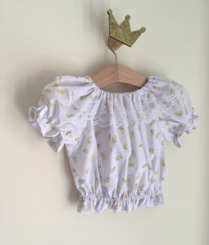 LEMON ROSEBUD GYPSY CROP