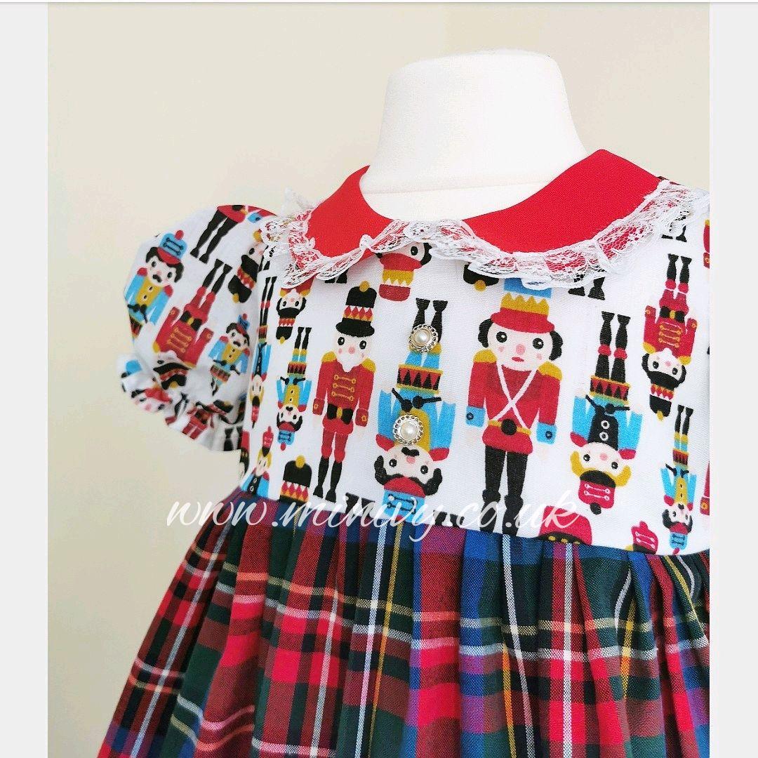 BETSY DRESS - NUTCRACKER