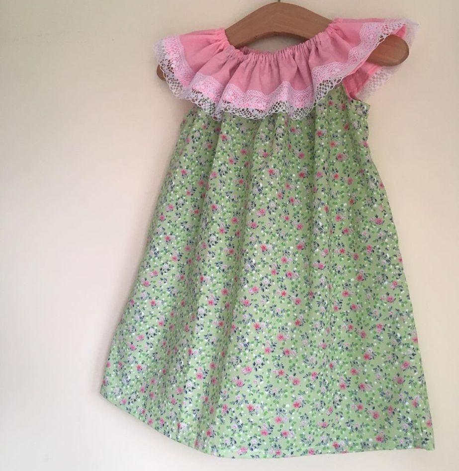 18/24M - LIME FLORAL DELILAH DRESS