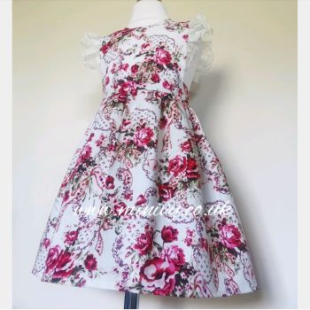 LOULA DRESS - SWEET ROSE