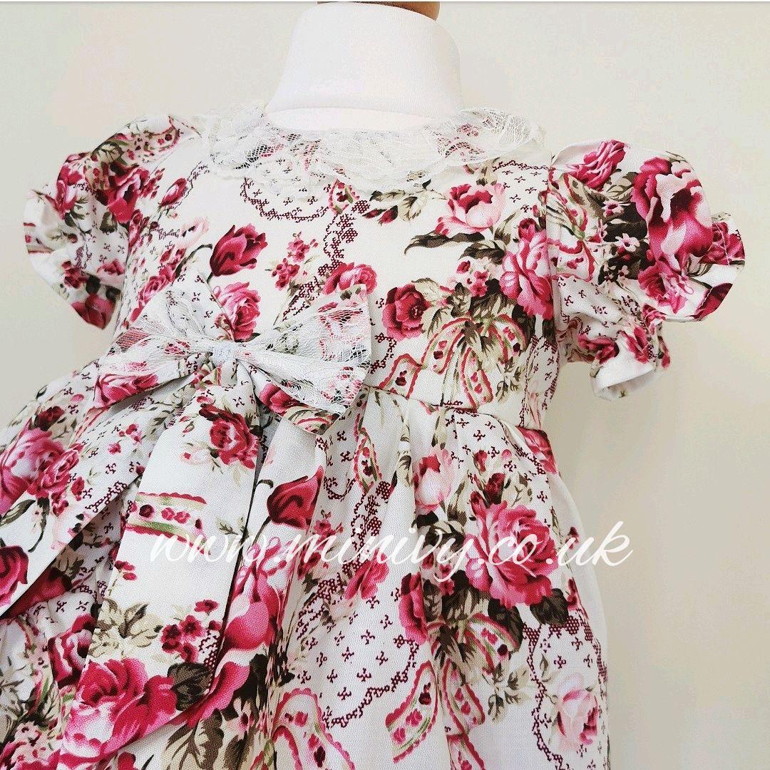 BELLE DRESS - SWEET ROSE