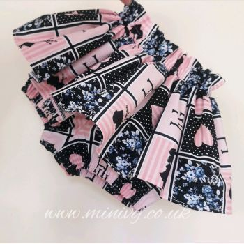 DOLLY PATCHWORK PEPLUM BLOOMS