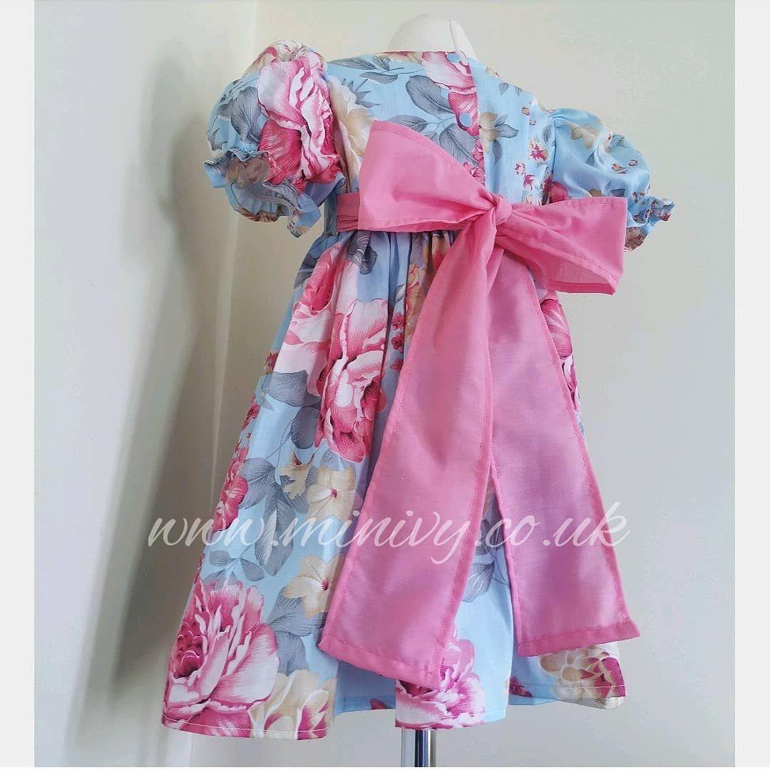 LOLA DRESS - CABBAGE ROSE