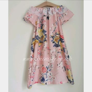 CHERRY BLOSSOM - FLUTTER DRESS