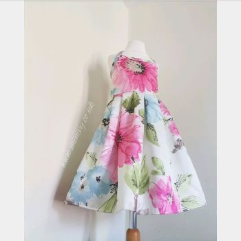 JOLIE DRESS - WATERCOLOUR FLORAL 3-8Y