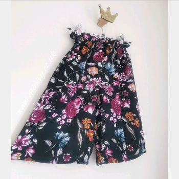 CULOTTES - MIDNIGHT FLORAL