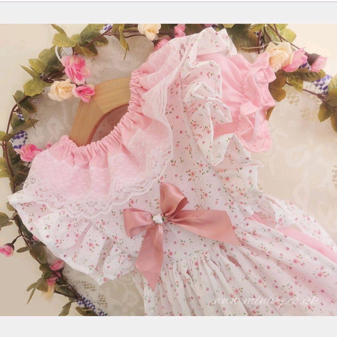 BONNIE DRESS SET - DITSY ROSEBUD