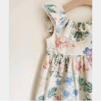 ANNIE DRESS - BLUE DAZE