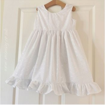 DARLA DRESS - BRODERIE ANGLAIS