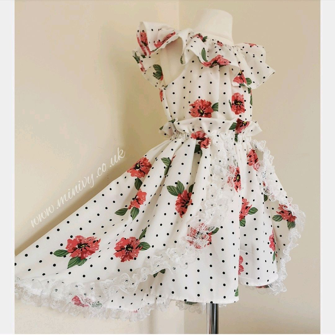 MIRABELLE TWO PIECE - POLKA ROSE