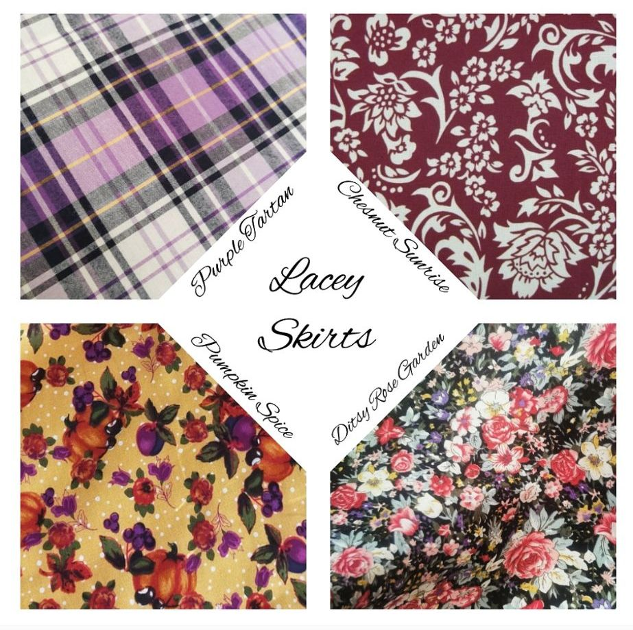 LACEY SKIRTS - CHOICE OF FABRIC