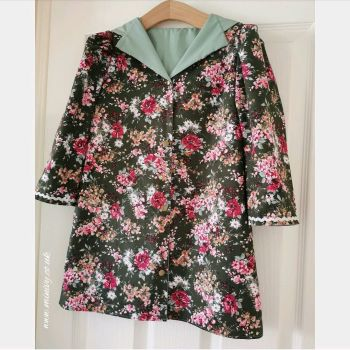 DRESS JACKET - FOREST FLORAL