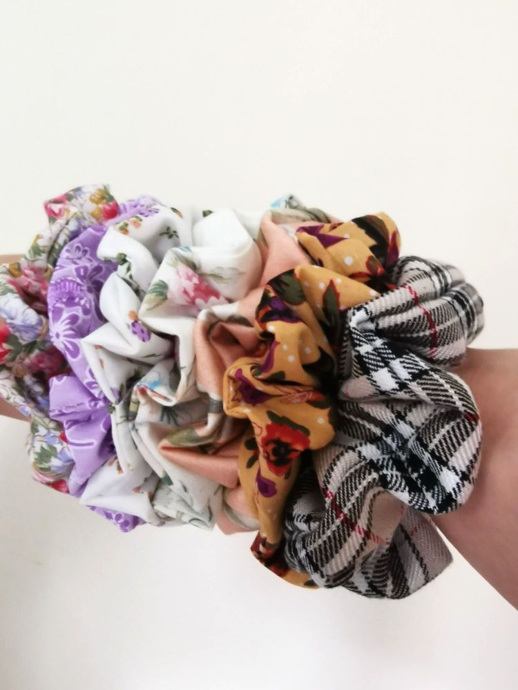 HAIR SCRUNCHIES - TO MATCH