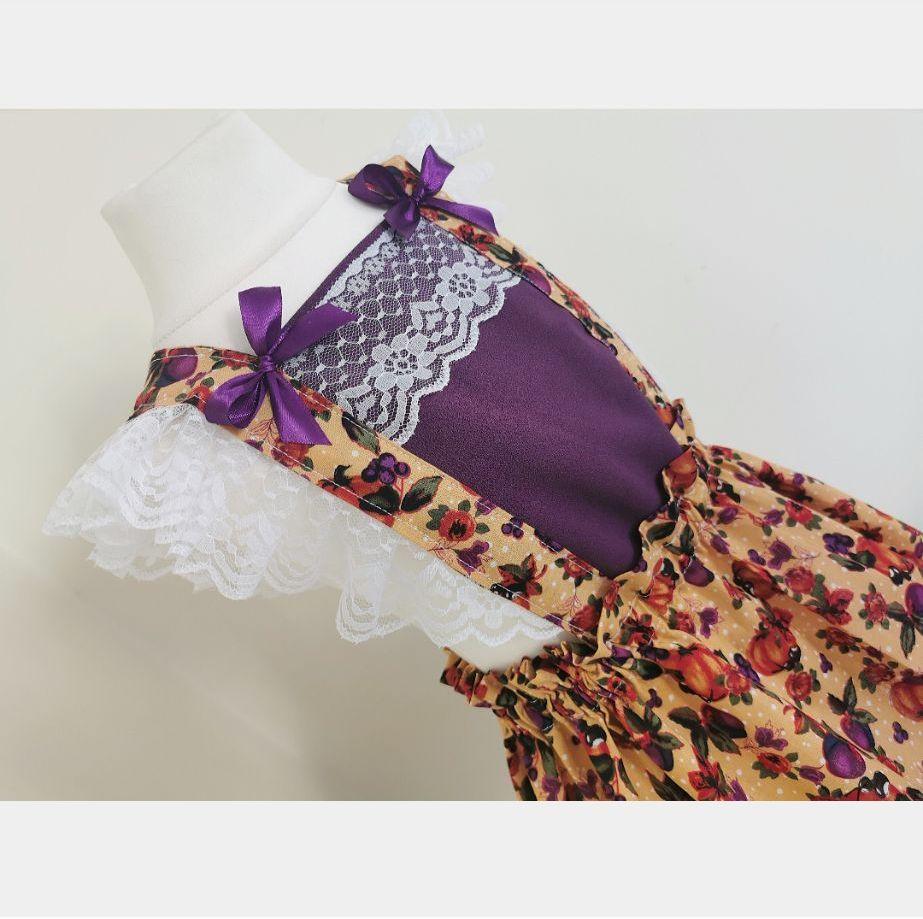 12/18M PINNY DRESS - PUMPKIN SPICE
