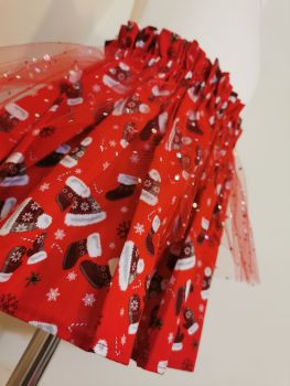 18/24M RED CHRISTMAS SKIRT