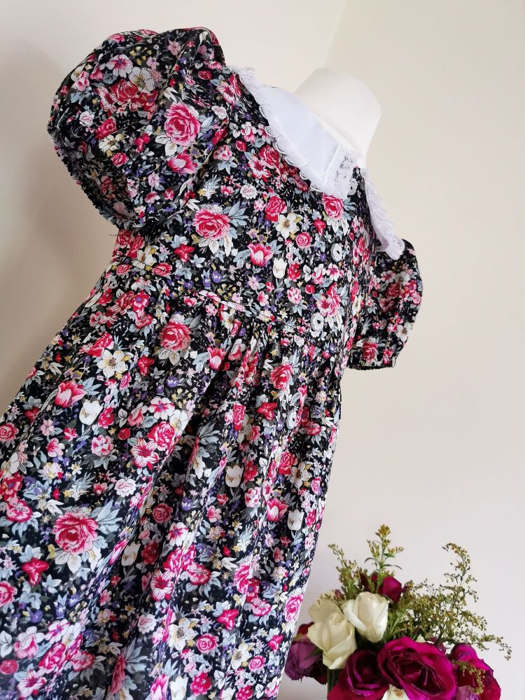 Y DRESS - DITSY ROSE GARDEN