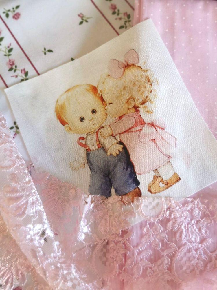 LITTLE LOVE 💕 SLOT 1 - PEPLUM ROMPER