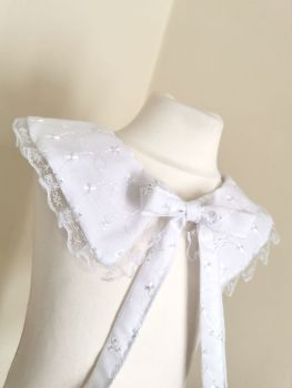 STATEMENT VINTAGE COLLAR - CLASSIC BRODERIE ANGLAIS