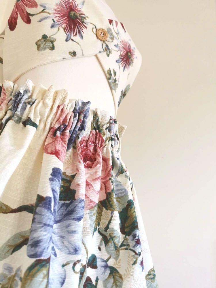OLIVE DRESS - SHABBY CHIC