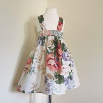 ADELINE DRESS - LAVENDER BLUSH FLORAL
