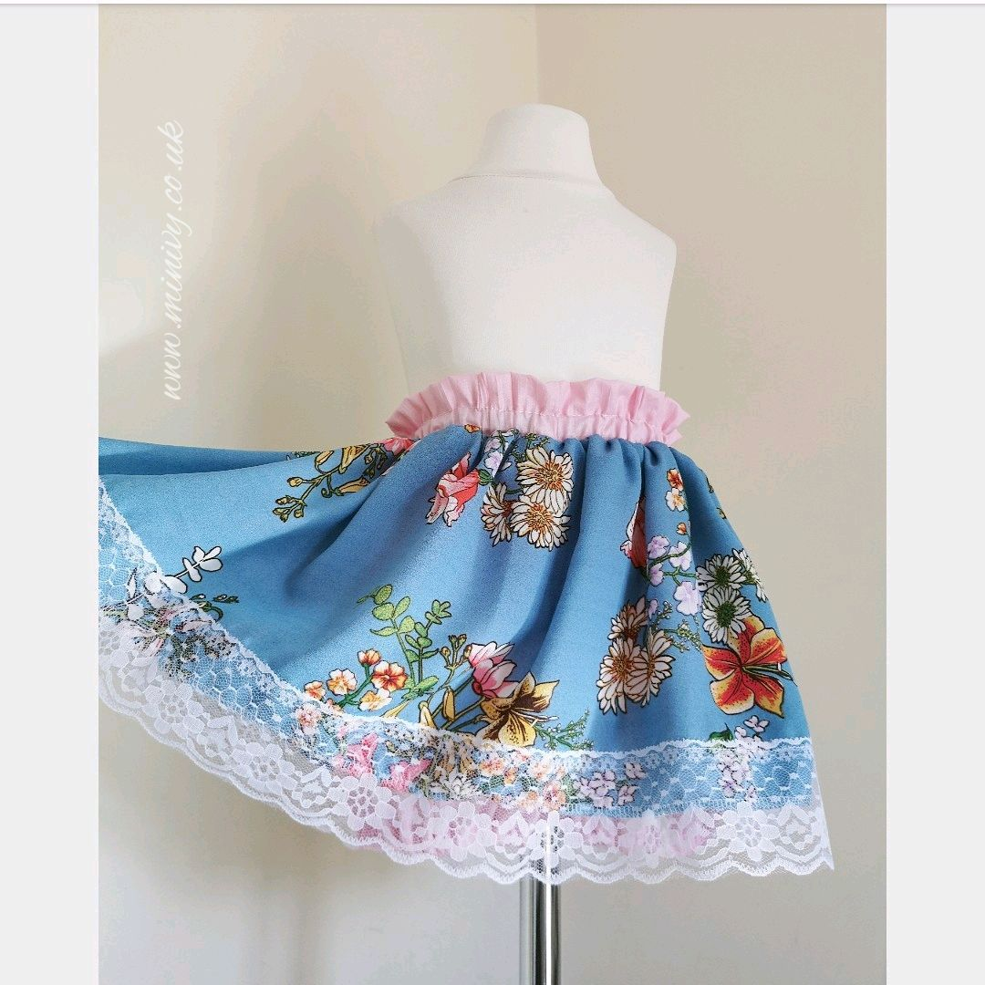 50% OFF BLUE MEADOW - BLOOMER SKIRTS - EASTER WKND DEAL
