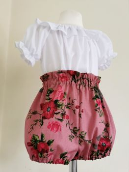 BLOOMERS - VINTAGE ROSE CHAMBRE