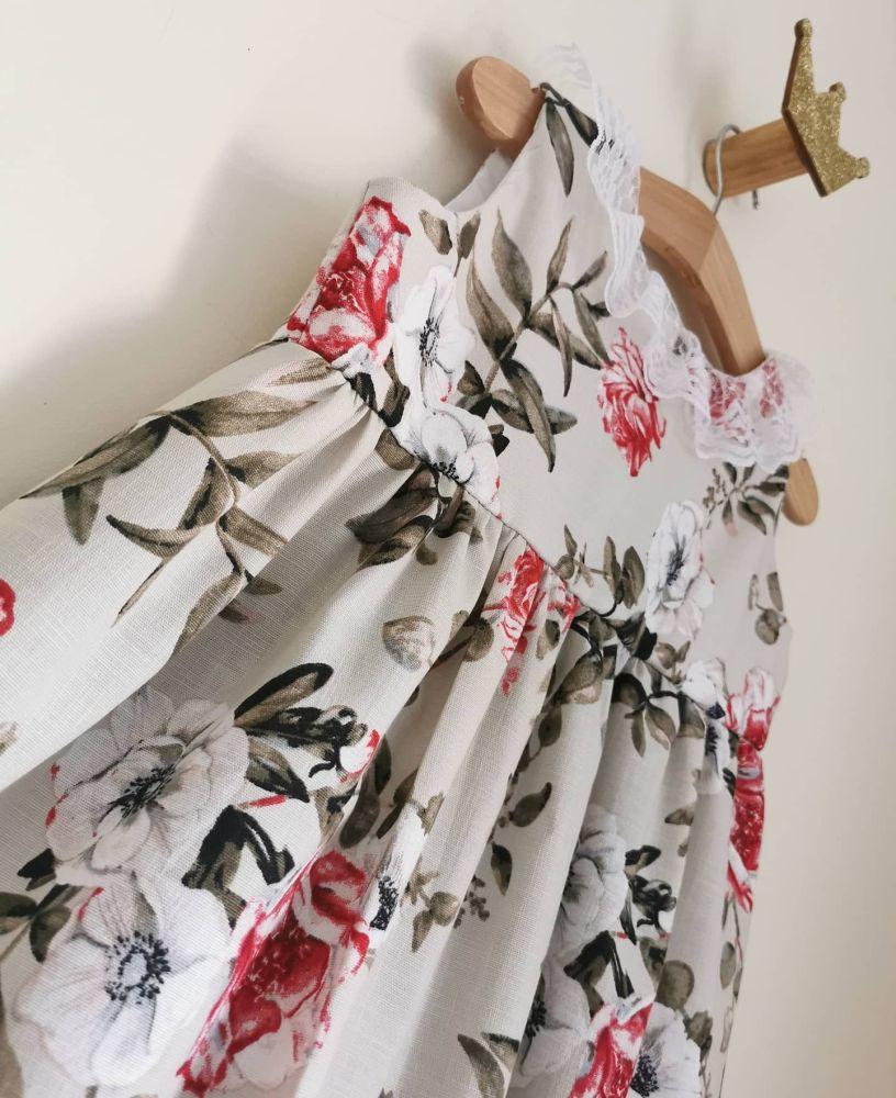 LILY TEA DRESS - AZALEA