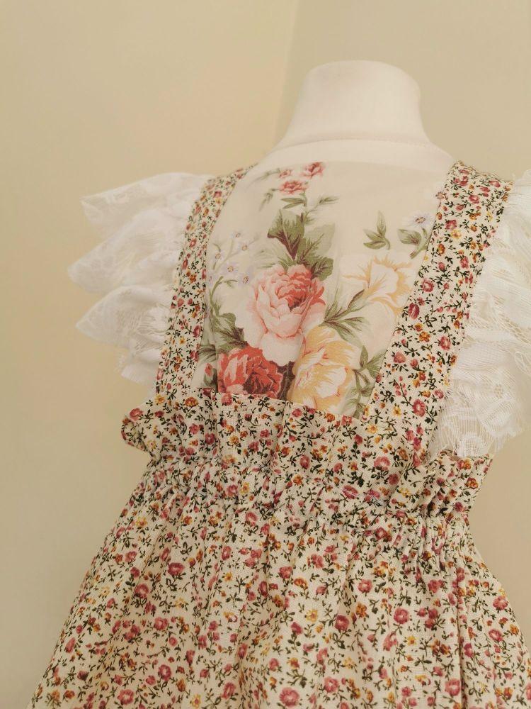 4/5YEARS - VINTAGE ROSE ARLA DRESS