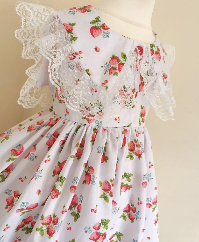 ISOBELLE DRESS - SWEET STRAWBERRY