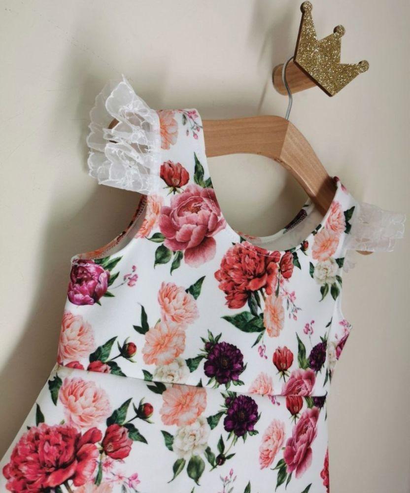 SUMMER SALE ☀️ SUN DRESS - PINK FLORAL