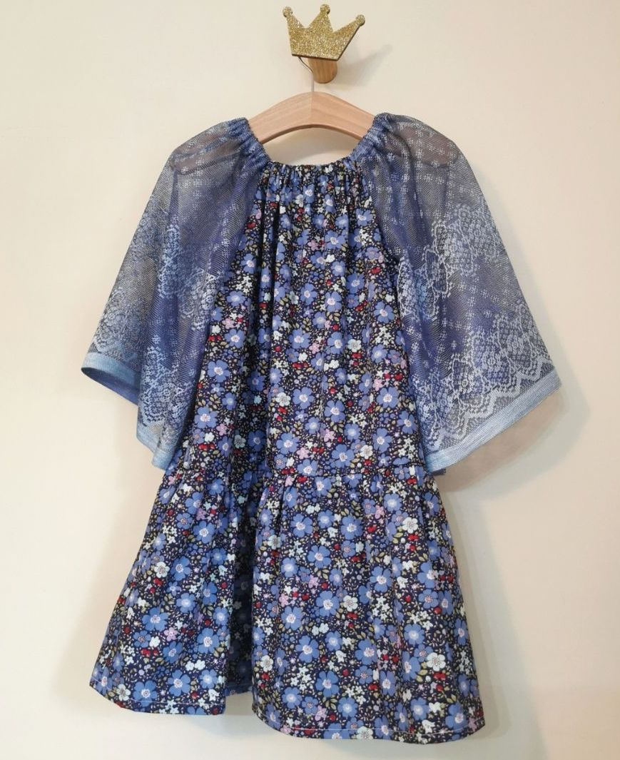 4/5 YEARS - FLUTTER DRESS - 20% OFF READY TO POST