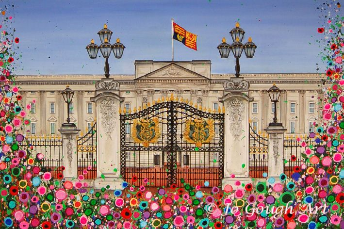 Buckingham Palace - Limited Edition Giclee Print (60x45cm)