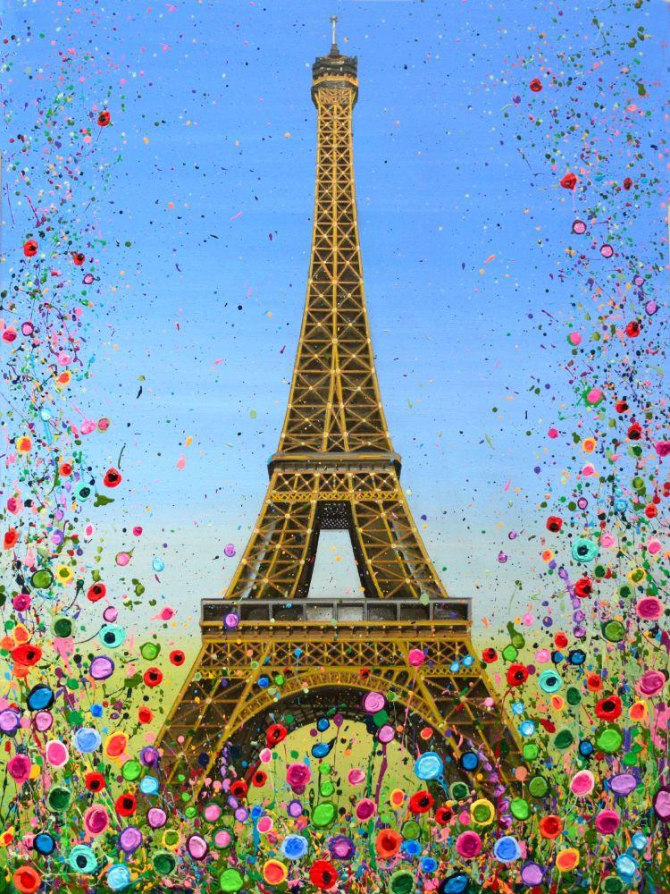 CANVAS PRINT (60X40cm) - Eiffel Tower, Paris - 25 Editions