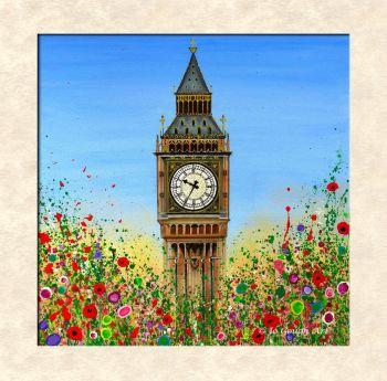 FINE ART GICLEE PRINT - Big Ben, London (40X40cm) - 45 Editions