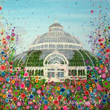 SOLD - ORIGINAL ART WORK - The Palm House (60x60cm)