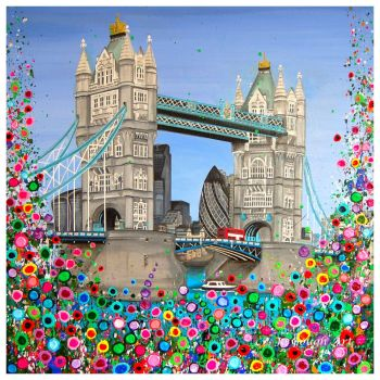 ORIGINAL ART WORK - Tower Bridge, London (60x60cm)
