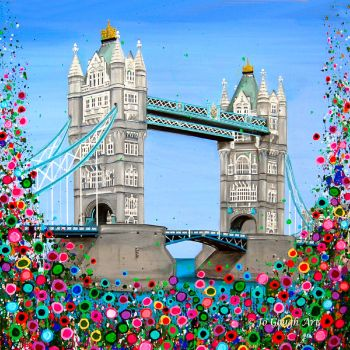 CANVAS PRINT (60x60cm) - Tower Bridge, London - 25 Editions