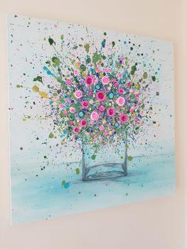 "ORIGINAL ART WORK - ""Thinking Of You"" (60x60cm)"
