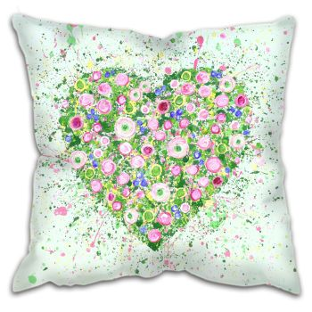 """CUSHION - """"My Heart Blooms For You"""""""