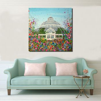 CANVAS PRINT - The Palm House, Liverpool From £65
