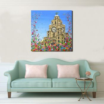 CANVAS PRINT - Liver Building, Liverpool From £65