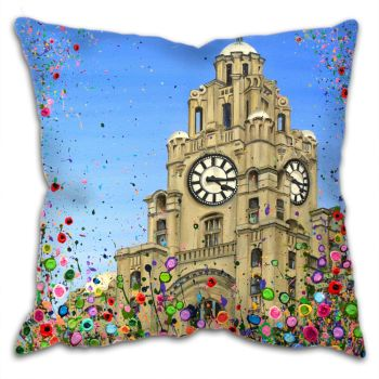 CUSHION - Liver Building, Liverpool