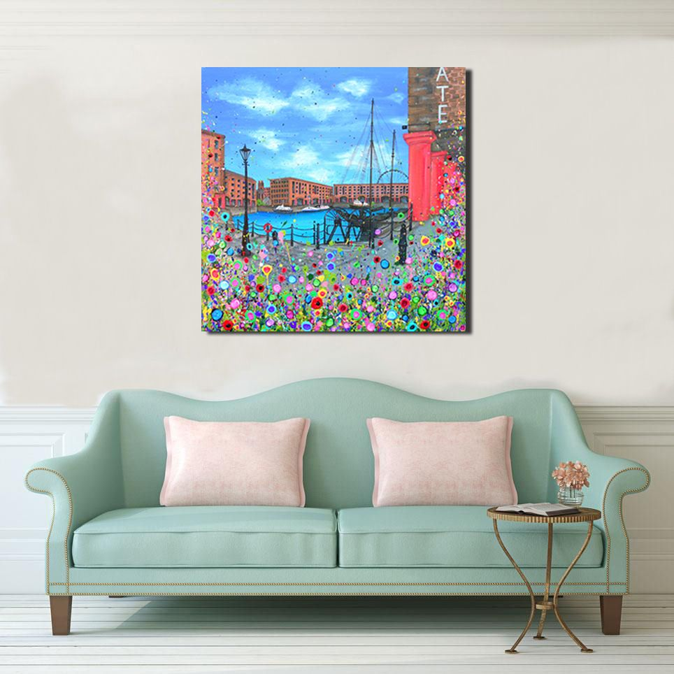 CANVAS PRINT - The Royal Albert Dock, Liverpool From £65