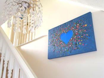 "ORIGINAL ART WORK - ""My Heart Belongs To You"" (90x60cm)"