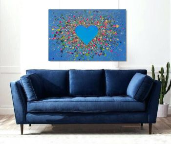 """CANVAS PRINT - """"My Heart Belongs to You"""" From £85"""