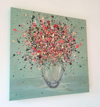 "ORIGINAL ART WORK - ""My Endless Love"" (60x60cm)"