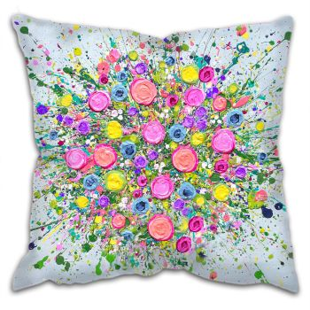 "CUSHION - ""Love At First Sight""  (NO VASE)"