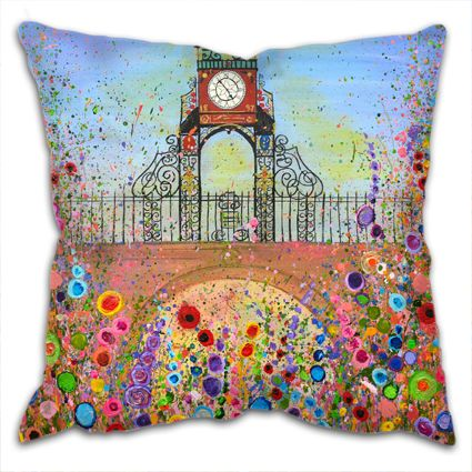 CUSHION - Eastgate Clock Chester - Version One